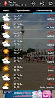 Screenshot of Wetter Deutschland FREE