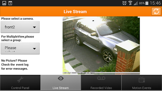 Mangocam Viewer - screenshot