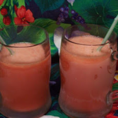 Strawberry-Rum Slush