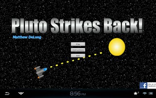 Screenshot of Pluto Strikes Back!