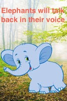 Screenshot of Talking Elephant