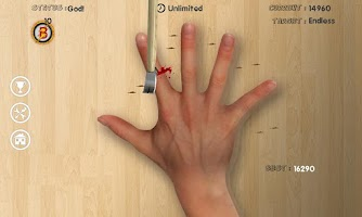 Screenshot of Finger Roulette (Knife Game)
