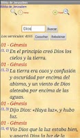 Screenshot of Biblia de Jerusalen