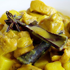 Malaysian Chicken and Potato Curry