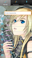 Screenshot of Japanese manga ringtones