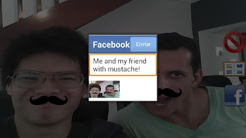 Screenshot of MustacheME