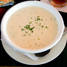 Lower-Fat New England-Style Clam Chowder