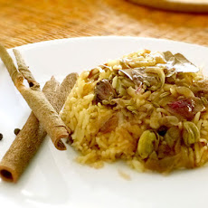 Easy Spiced Basmati Pilaf