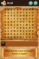 Screenshot of Bible Crossword