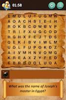 Screenshot of Bible Crossword