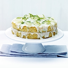 Fresh Lime and Coconut Cake