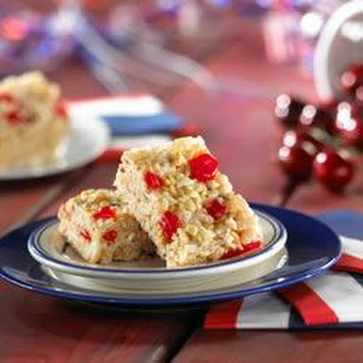 Cherry Coconut Bars by Kellogg's® Rice Krispies®