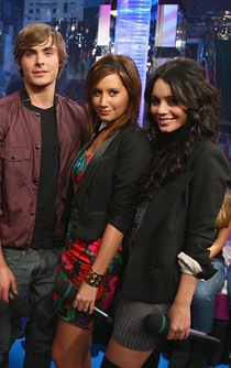 "The Cast of ""High School Musical 3"" - Corbin Bleu, Monique Colem"