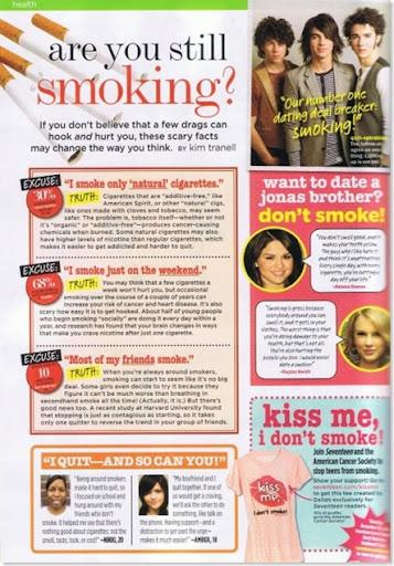 scan selena fumadores