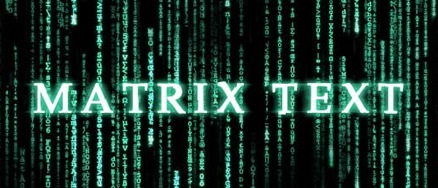 matrix text