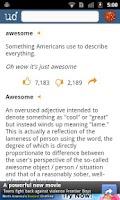 Screenshot of Urban Dictionary (Official)