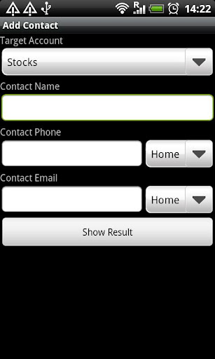 Contact: AndroidBinding Demo