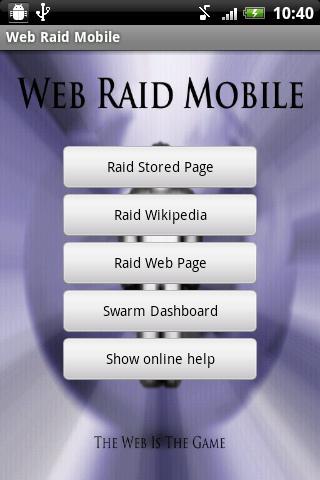 Web Raid Mobile