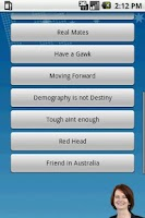 Screenshot of Julia Gillard Soundboard
