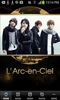 Screenshot of L'Arc~en~Ciel Official Appli