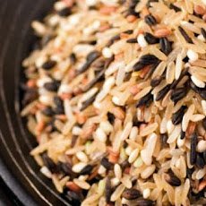 Wild Rice with French Green Lentils