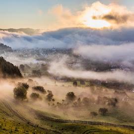 Rasaritul soarelui  in rai... by Sveduneac Dorin Lucian - Landscapes Mountains & Hills ( nature, romania, sunrise, landscape, bucovina,  )