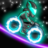 Neon Motocross APK for Bluestacks