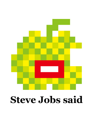 【免費娛樂App】Steve Jobs Said-APP點子