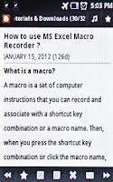 Screenshot of Learn MS Excel Tips & Tricks