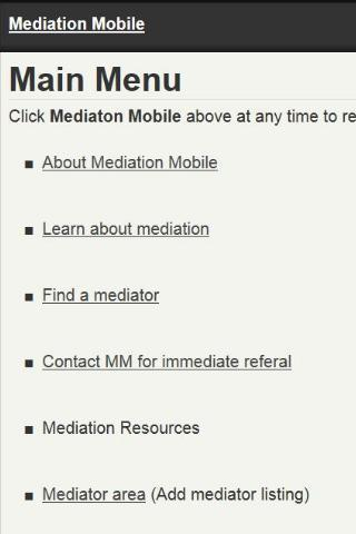 【免費商業App】Mediation Mobile-APP點子