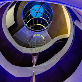 Helix Sculpture by Mark Goodman - Buildings & Architecture Other Interior ( abstract, alexander tylevich, science and student service building, helical sculpture, u of m, university of minnesota )
