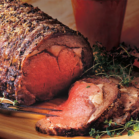 rib herb crusted beef rib roast herb crusted herb crusted standing rib ...