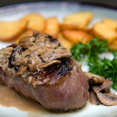Filet Mignon with Mushrooms and Madeira