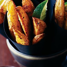 Jamaican Spiced Potato Wedges