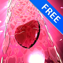 3D Valentine Ruby Heart Free