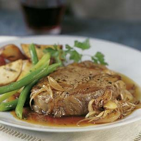 Filets Mignons with Shallots
