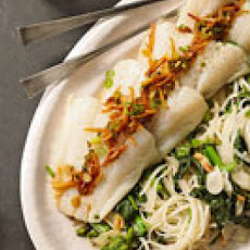 Gingery Fish and Noodles