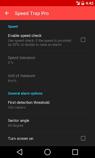 Speed Trap Pro - screenshot