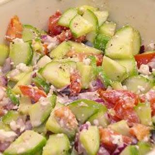 Cucumber Red Onion Feta Salad Recipes
