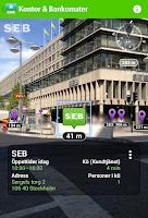 Screenshot of SEB