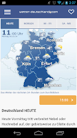 Screenshot of Wetter-DE