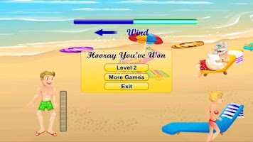 Screenshot of Beach Ball Toss