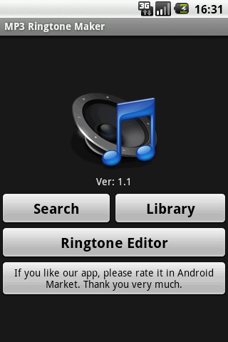 mp3-ringtone-maker for android screenshot