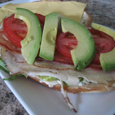 Super Easy Cobb Salad Sandwich (Deli-Style)