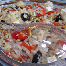 Orzo Salad With Feta and Cherry Tomatoes
