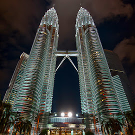 Twin Towers by Antonio Zarli - Buildings & Architecture Office Buildings & Hotels (  )