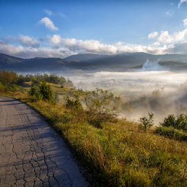 Morning haze by Stanislav Horacek - Landscapes Mountains & Hills