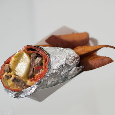 Chicago-Style Beef and Cheese Wrap