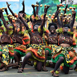 Ati Dancers by Banggi Cua - People Musicians & Entertainers ( dinagyang travel, dancers, festival, travel, photography )