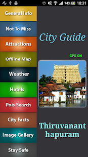 Thiruvananthapuram TravelGuide - screenshot